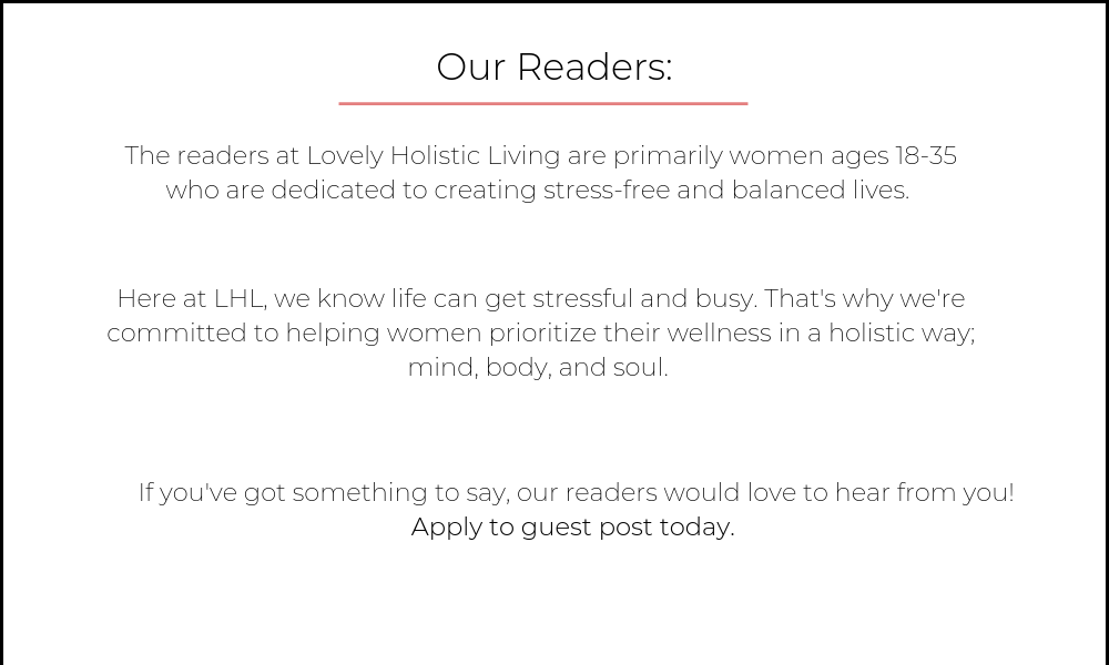 Guest Post   Lovely Holistic Living